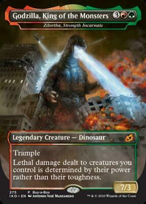 Magic the Gathering: Godzilla, King of the Monsters Foil Straight from Pack, New