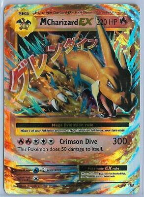 Pokemon - M Mega Charizard EX - Evolutions 13/108 - Holo Rare - NM+