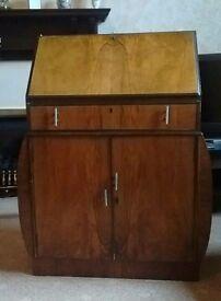 Vintage Bereau Writing Desk Art Deco Style Antique?