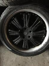 BMW X5 20 INCH MAG WHEELS WITH TYRES VERY GOOD CONDITION!!! Altona North Hobsons Bay Area Preview