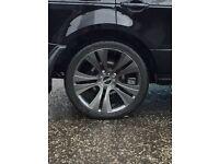 Range Rover BMW X5 ( 22 inch alloys new tyres )