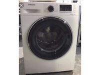 Samsung washing machine eco bubble 8 kg ww80j5555fw
