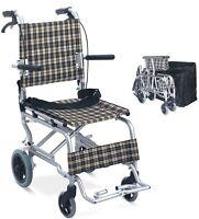 Chaise fauteuil roulant de transport neuf pratique pour voyage
