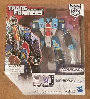 Transformers Generations 30th Anniversary Voyager Doubledealer - 2013