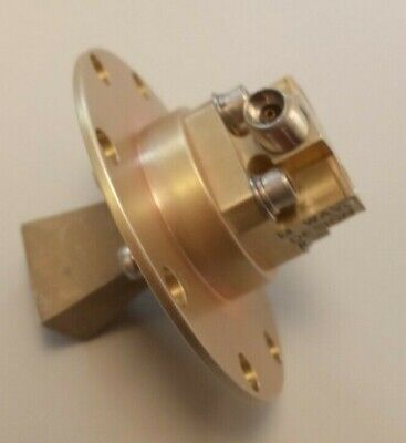 Wr28 26.5ghz To 40ghz 11dbi Horn Antenna With 2.92mm Waveguide To Coax Adapter