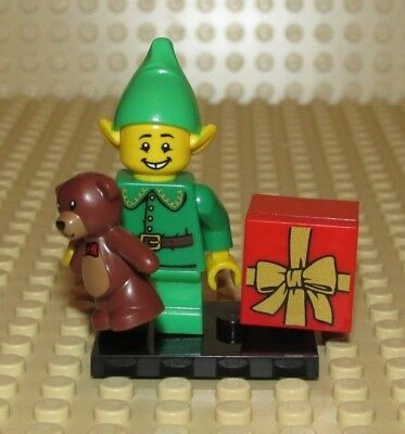 LEGO HOLIDAY ELF minifigure Christmas COLLECTIBLE SERIES 11