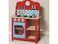 Kids Wooden Play Kitchen BRAND NEW