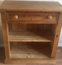 Sold pine cabinet