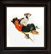 Norman Rockwell Signed Lithograph