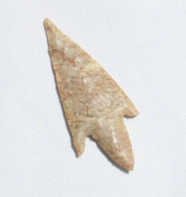 SAHARA NEOLITHIC TRANSLUCENT RED VEIN AGATE POINT