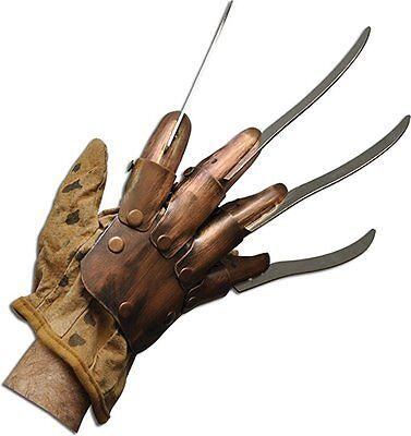 y Krueger Metall Handschuh Prop Erwachsene Halloween Kostüm (Freddy Krueger Metall Handschuh)