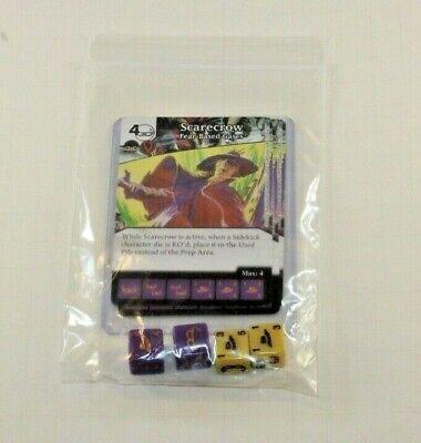 DC Dice Masters Justice Campaign Box * 3 SCARECROW Cards 4 Dice 2 Proxy