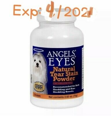 🐾Angels Eyes Dog Natural Stain Removing Powder Chicken 2.65 oz 75g Exp.4/2021🐾