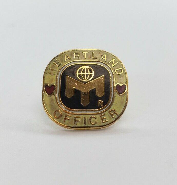 Mensa Member Lapel Pin - Heartland Officer - New - Never Worn -  Rare Pinback