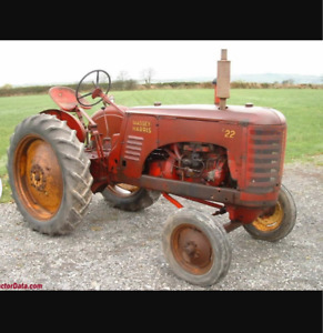 Looking for massey harris 22 tractor parts.