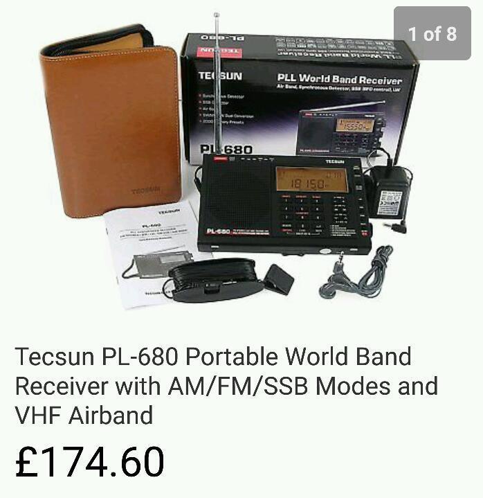 Tecsun PL680 World Receiver