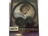 Marmitek BoomBoom 540 Hi-Fi Headphones Bluetooth Black
