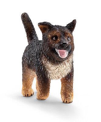 German Shepherd Puppy Figurine (Schleich 16832 German Shepherd Puppy Dog Model Figurine Toy 2015 - NIP )