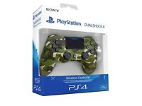 PlayStation 4 Controller (Green Camo) (NEW)