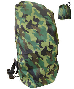 Army-Combat-Military-Rucksack-Cover-Dry-Pack-Waterproof-Woodland-DPM-Camo-XL-New