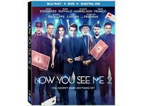 NOW YOU SEE ME 2 - (2016) BLU RAY - FREE POST