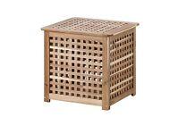 IKEA Hol wooden storage box