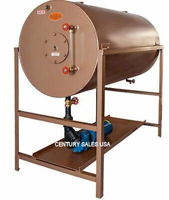 70 Gal 24x36 Boiler Condensate Return Tank W Burks 3hp Pump For 50hp Boilers