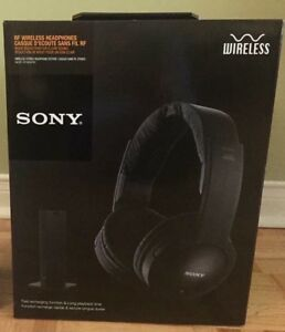 Sony Wireless Stereo Headphone System - BNIB