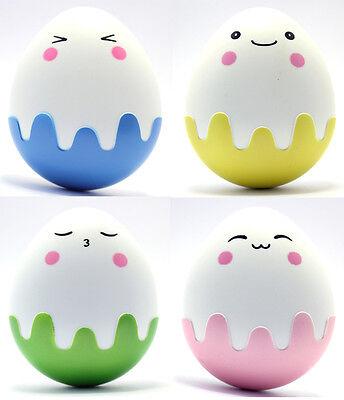 Kontaktlinsenbehälter Linsenbehälter Aufbewahrungsbehälter Cartoon Eier Set NEU
