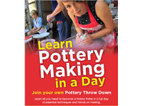 Learn Pottery Making in a Day