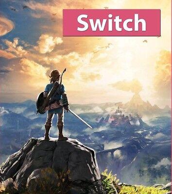 Details about Legend of Zelda: Breath of the Wild (Nintendo Switch, 2017)  Brand New !!