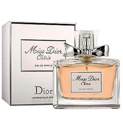 Miss Dior Cherie by Christian Dior Eau de Parfum Spray 3.4 oz 100ml new sealed