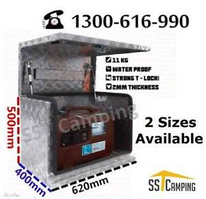 L620*W400*H500 Aluminium Generator SST Camping Toolbox! Clayton Monash Area Preview