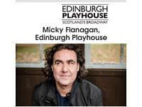 2 x Micky Flanagan tickets