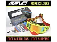 Motocross goggles MX mtb bmx off road enduro atv Ktm Honda downhill xmas gift adult exc
