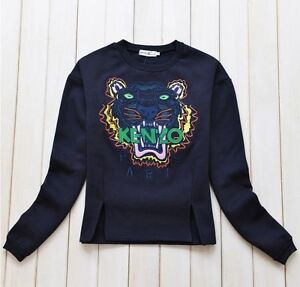 Kenzo Tiger Sweatshirt Blue or Green S/M/L
