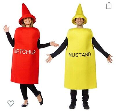 Couple Halloween Costumes For Adults (Ketchup And Mustard Costume - Halloween Couples Costumes For)