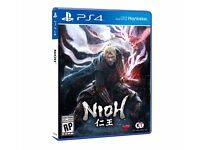 Nioh (PS4) Brand new unopened copy