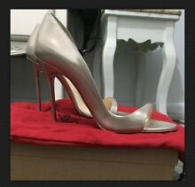 Designer Women's Christian Louboutin Toboggan 100mm Beige Heel Liverpool Liverpool Area Preview