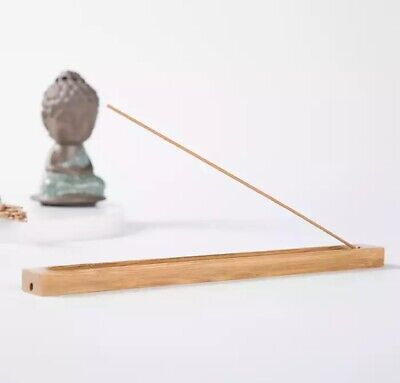 Bamboo Incense Holder For Meditation FREE Nag Champa Incense Box Included