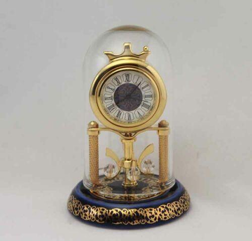 Bulova Miniature Kingston Clock B0558 Solid Brass