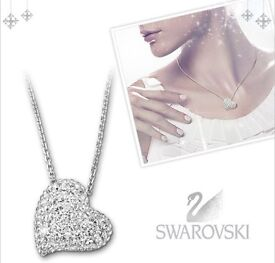 Swarovski Alana Heart Pendant Necklace New and Boxed