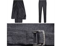 DKNY Buckle Trousers Colour Cement Size 34