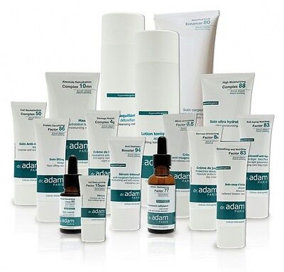 dr.adam Cosmetic Skin Treatment & protection for sensitive skin hypo-allergenic
