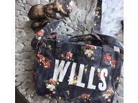 New Jack Wills Bag, vintage design with shoulder strap attached
