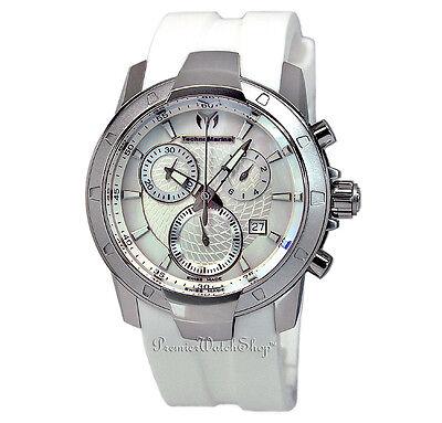 Brand NEW Techno-Marine UF6 Large Chrono White 610003 Men's Chronograph Watch