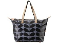 Orla Kiely shopper messenger bag in Midnight - Brand new