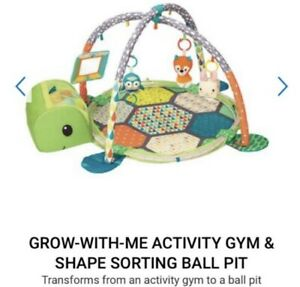 Infantino grow-with-me activity gym & ball pit (play mat)