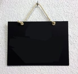 Extra Large Hanging Blackboard for Wall - Kitchen or play room