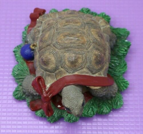 Tom Rubel Silver Deer Christmas Animals Collection Turtle